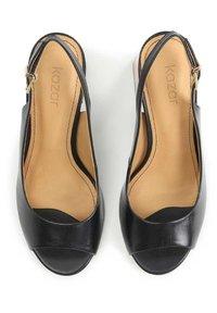 Kazar - Peep toes - black - 3