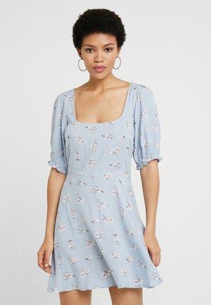 SWEET PRINT DRESS - Day dress - light blue