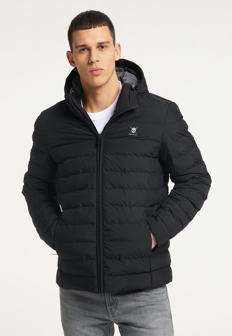 TUFFSKULL - Winter jacket - schwarz