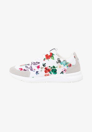 RUNNER_FLORAL - Baskets basses - white