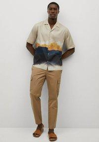 Mango - Shirt - sandfarben - 1