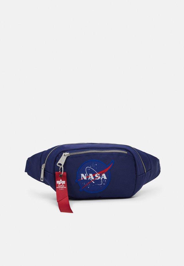 NASA WAIST BAG - Vyölaukku - blue