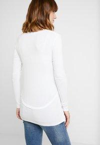 Cotton On - MATERNITY - Topper langermet - white - 2