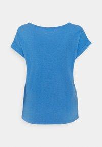Marc O'Polo DENIM - SHORT SLEEVE WIDE BODYSHAPE V NECK - Basic T-shirt - intense blue