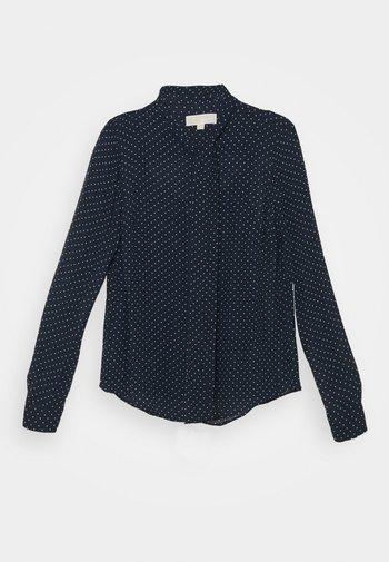 PERFECT DOTS BOW BLOUSE - Košile - dark blue