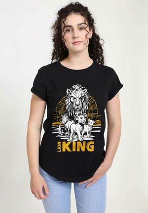 DISNEY LION KING GROUP - T-shirt print - black