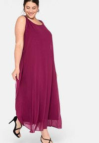 Sheego - Maxi dress - himbeere - 1