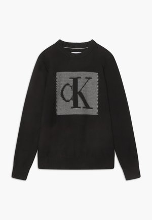 MONOGRAM CONTRAST - Jumper - black