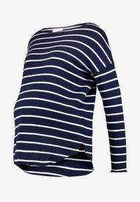 Zalando Essentials Maternity - Jumper - dark blue/off-white - 4