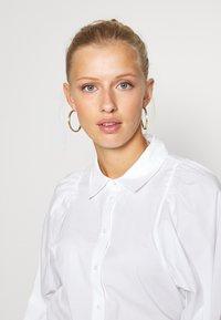 ONLY - ONLNANNA - Button-down blouse - white - 3