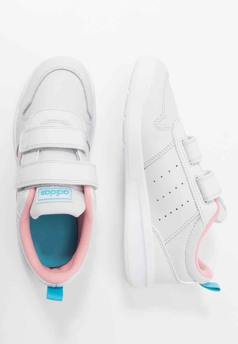 adidas Performance - TENSAUR UNISEX - Sports shoes - dash grey/glow pink/bright cyan