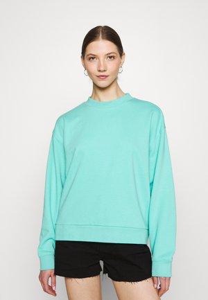 HUGE CROPPED - Sweater - turqoise green