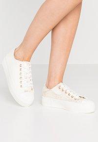 Miss Selfridge - TAMI - Sneakersy niskie - white - 0
