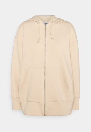JOA HOODIE - Hettejakke - beige dusty light