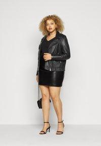 Glamorous Curve - SKIRT - A-line skirt - black - 1
