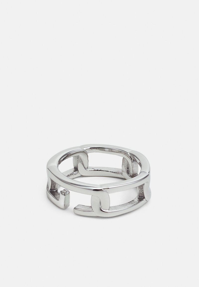 Guess - CHAIN ON RAILS - Ring - silver-coloured