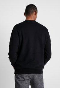 Calvin Klein - LOGO EMBROIDERY - Felpa - black - 2