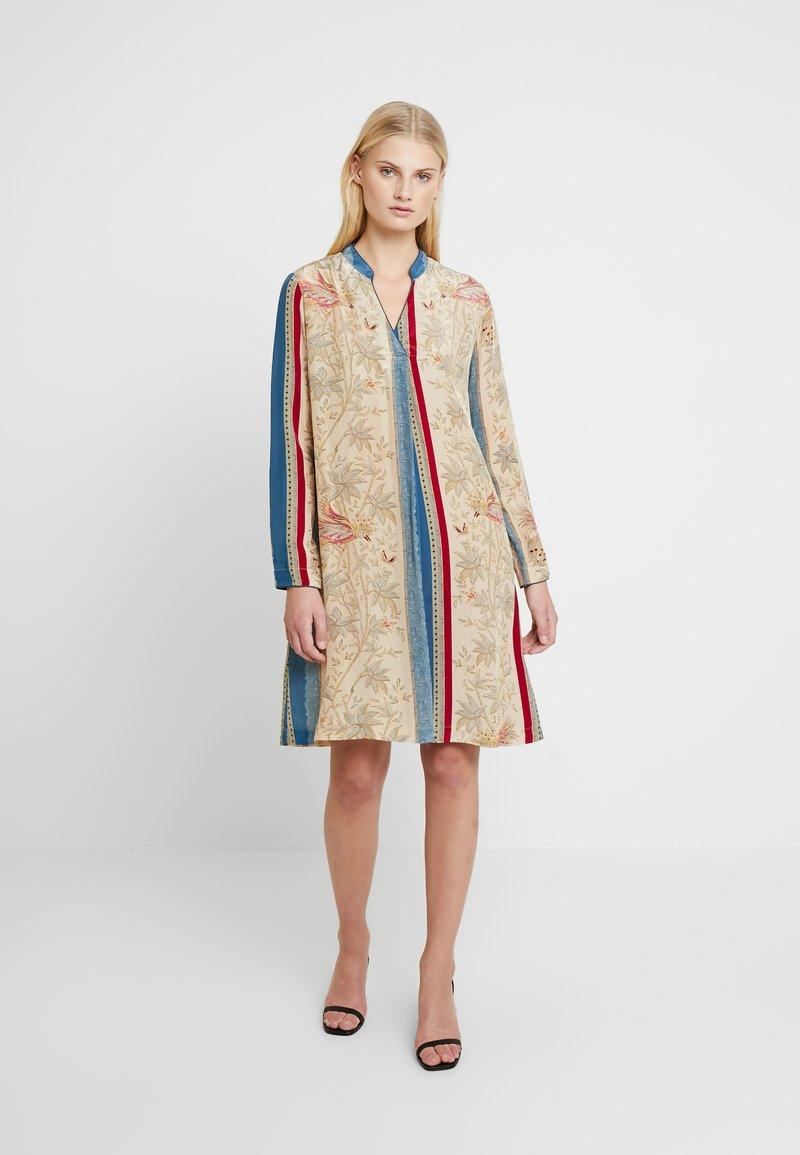 Mos Mosh - ARIA BIRD DRESS - Day dress - multi-coloured