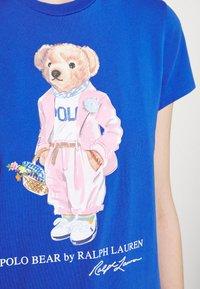 Polo Ralph Lauren - T-shirt con stampa - new iris blue - 6