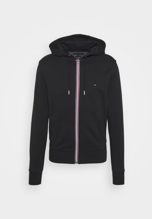 CORE C ZIP HOODIE - Zip-up hoodie - black