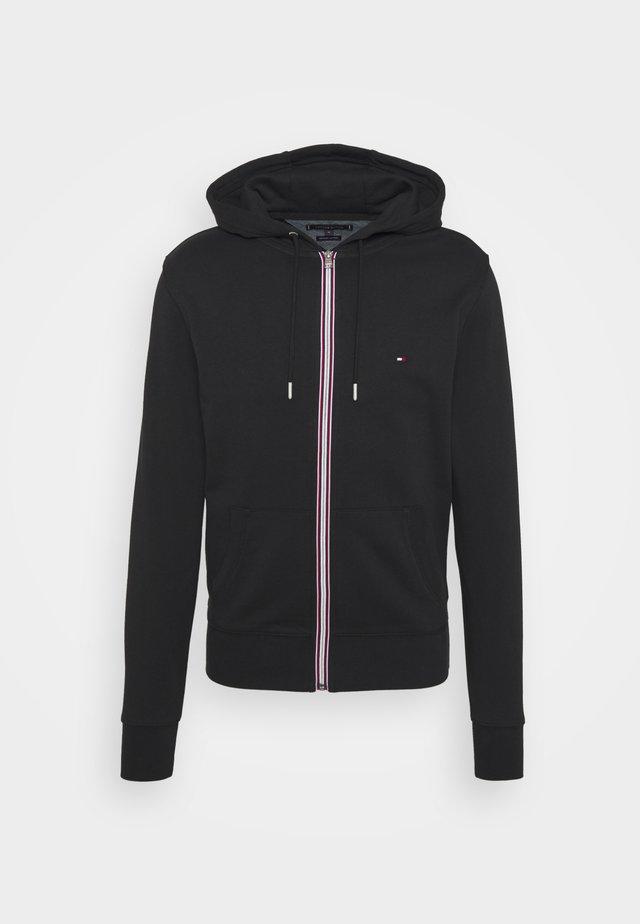 CORE C ZIP HOODIE - veste en sweat zippée - black