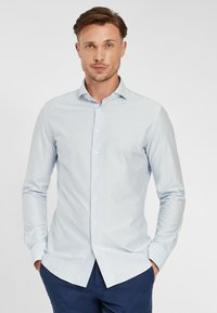 PROFUOMO - JAPANESE KNITTED - Shirt - blue - 0