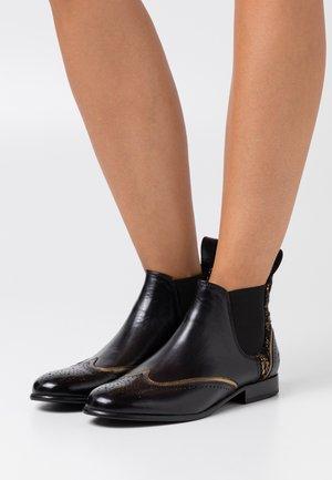 SALLY  - Kotníková obuv - black/gold