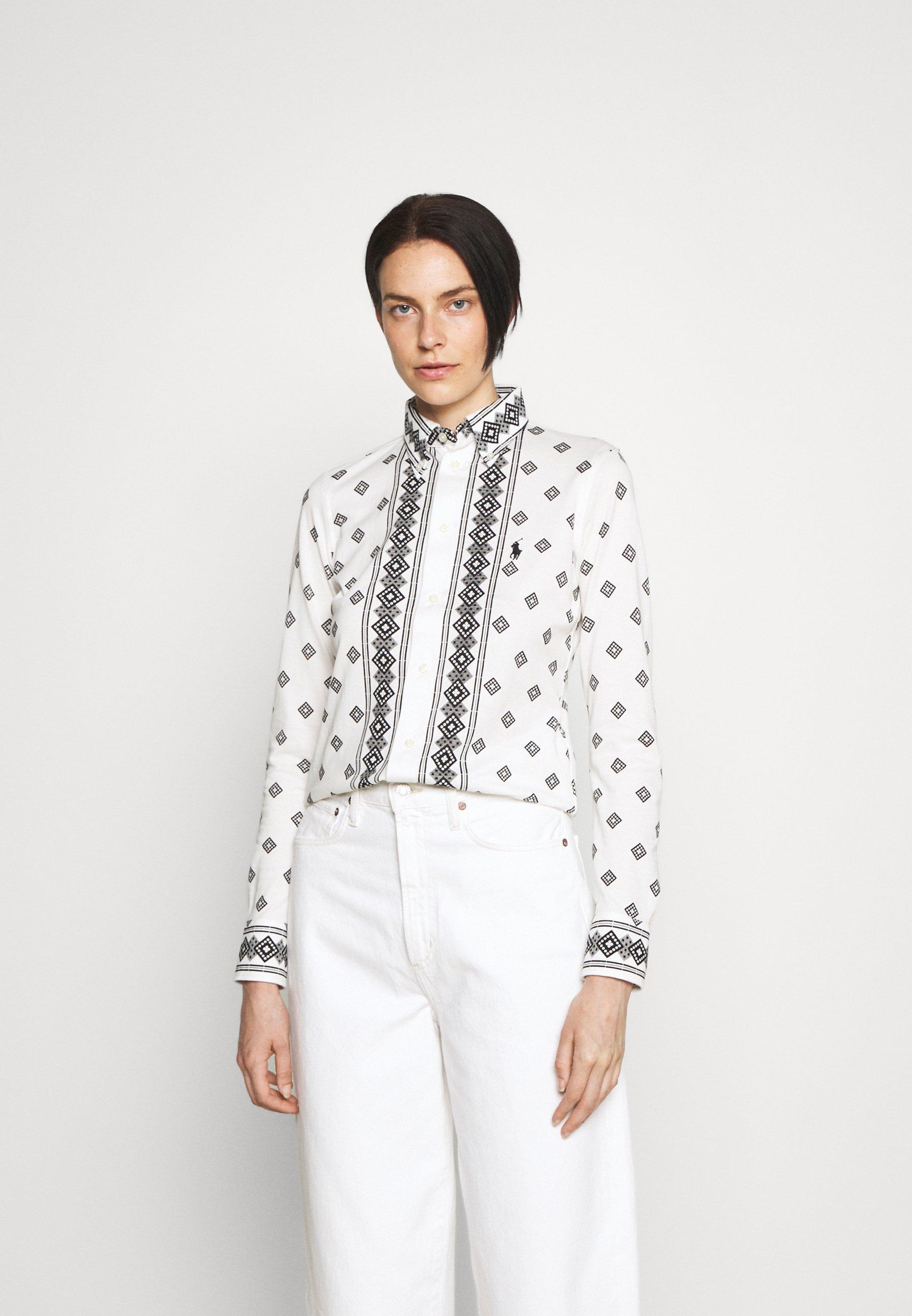 Donna PRINTED OXFORD - Camicia