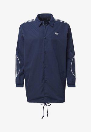 COACH JACKET - Short coat - blue