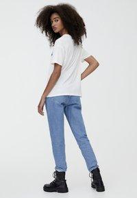 PULL&BEAR - THE ROLLING STONES - Print T-shirt - white - 2