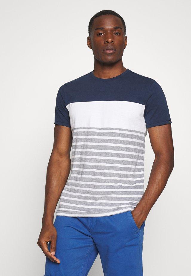 LETON - T-shirt z nadrukiem - navy