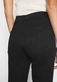 Anna Field - STRAIGHT LEG - Straight leg jeans - black denim - 7
