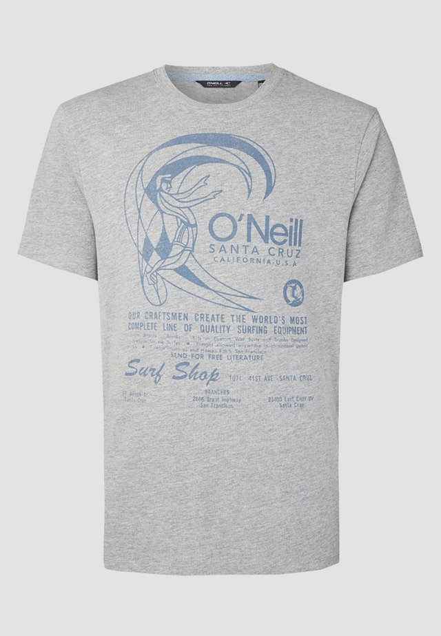 O'RIGINALS PRINT - Print T-shirt - grau
