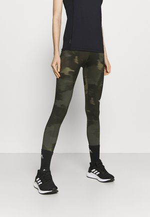 FLEX MID RISE - Leggings - green