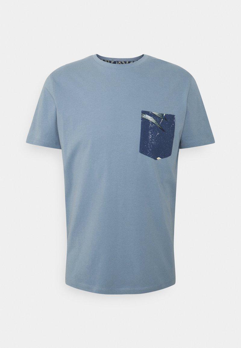 Jack & Jones - T-shirt print - faded denim