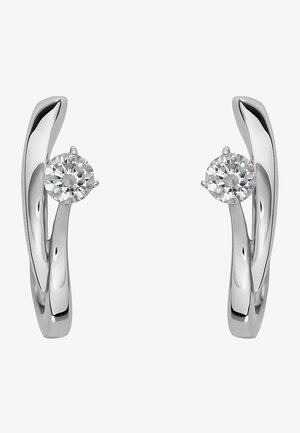 Earrings - silver_coloured
