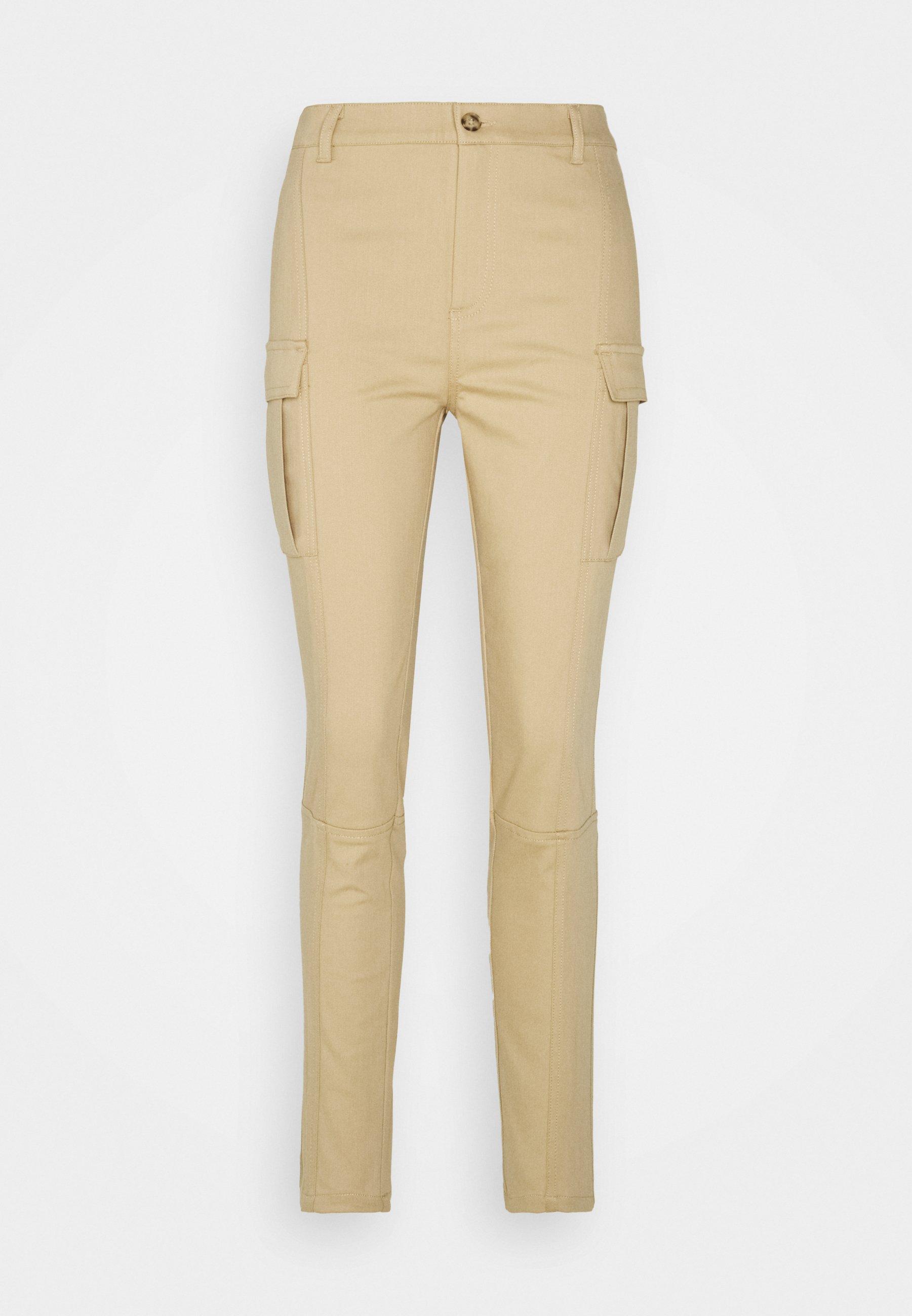 Women DELUSO PANTALONE STRETCH - Cargo trousers