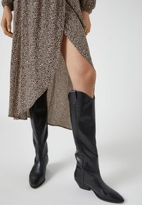 PULL&BEAR - Wrap skirt - brown - 2