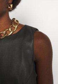 Trussardi - DRESS SOFT - Day dress - black - 5