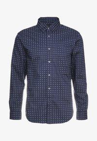 GEO DITSY - Shirt - navy/multi