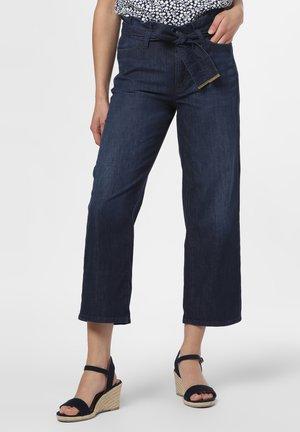 Straight leg jeans - rinsed