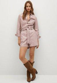 Mango - NASTIA - Button-down blouse - rosa pastel - 0