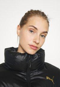 Puma - SHINE JACKET - Down jacket - black - 3