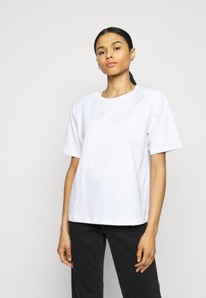 MAINTAIN - Jednoduché triko - white
