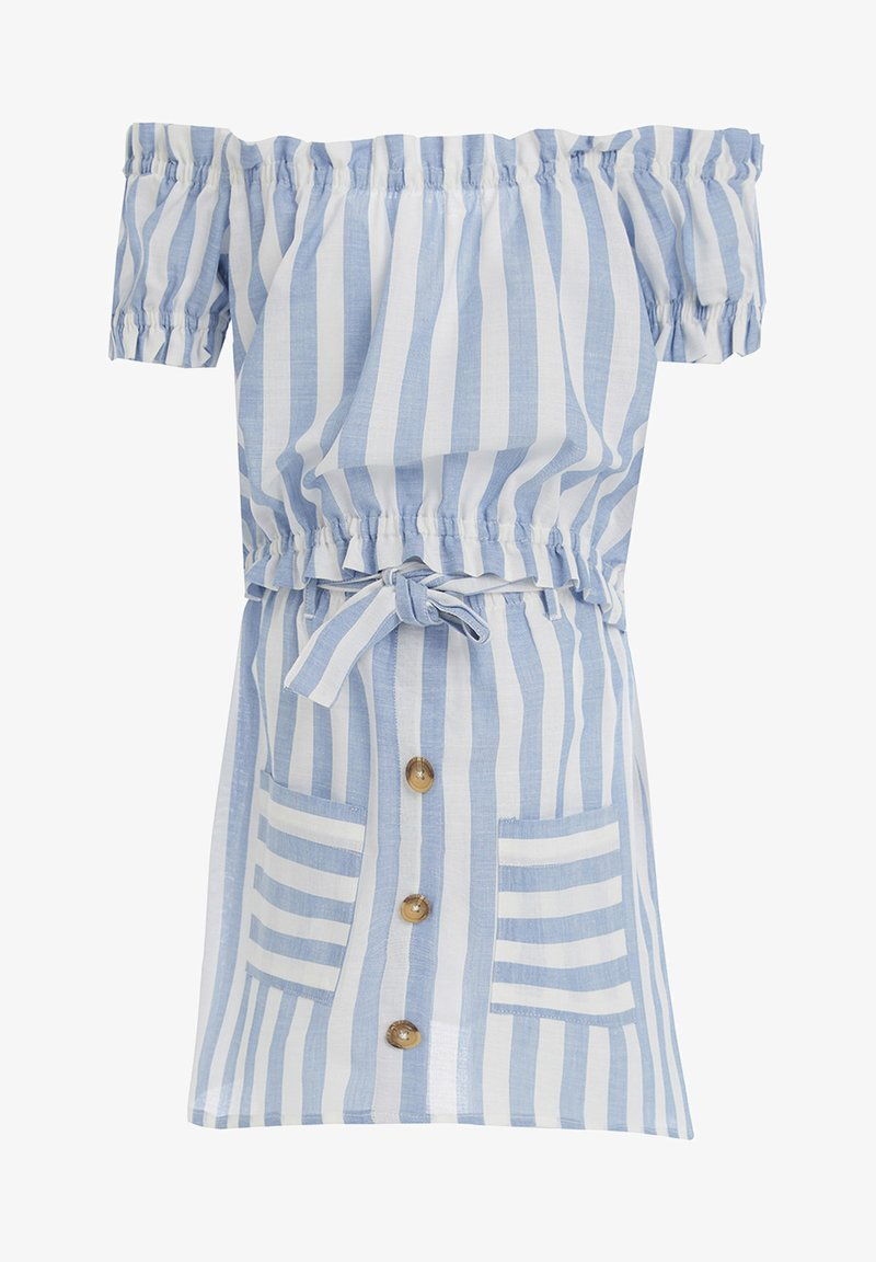 DeFacto - A-snit nederdel/ A-formede nederdele - blue