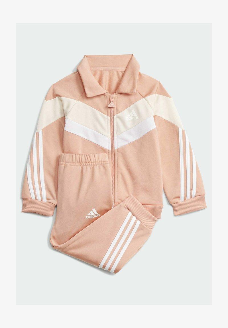 adidas Performance - I FI SHINY TS SET - Trainingspak - pink