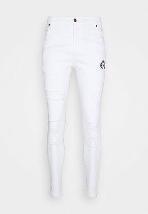 DISTRESSED PRESTIGE - Jeans Skinny Fit - white
