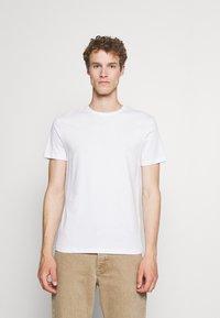 Pier One - 5 PACK - Basic T-shirt - black/white - 4