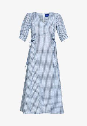 TAJA DRESS - Day dress - dusty blue