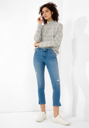 Jeans Skinny Fit - mid stoned